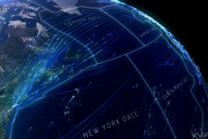 This video of commercial flight patterns will blow your mind