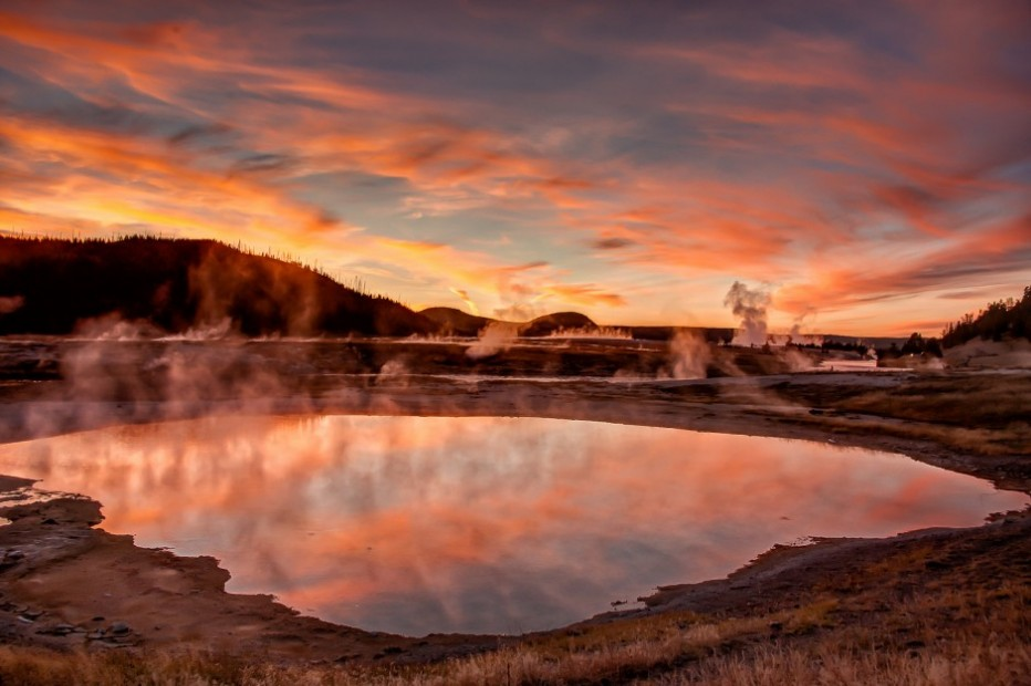 Yellowstone at sunset. Photo: Bill Young